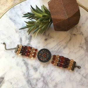 Jewelry - Boho Beaded Cuff Bracelet